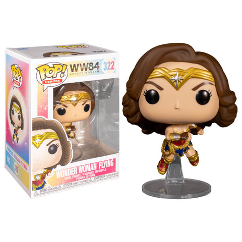 Funko POP Mujer Maravilla Volando 322 Wonder Woman 1984 Funatic Store Colombia