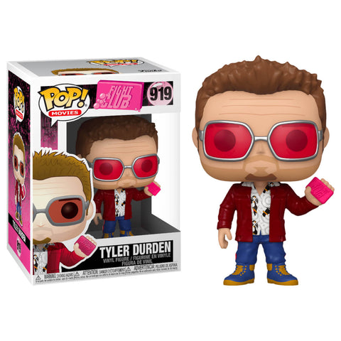 Funko POP Tyler Durden 919 Fight Club Funatic Store Colombia