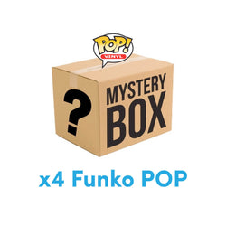 Funko POP x4 Mystery Box Funatic Store Colombia