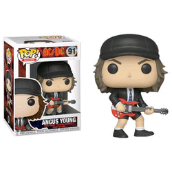 Funko POP Angus Young 91 AC/DC Funatic Store Colombia