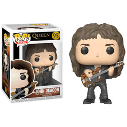 Funko POP John Deacon Queen Music Funatic Store Colombia