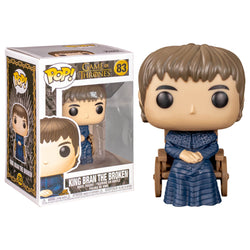 Funko POP King Bran The Broken 83 Game of Thrones Funatic Store Colombia