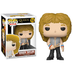 Funko POP Roger Taylor Queen Music Funatic Store Colombia