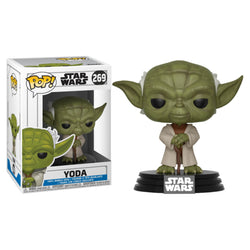 Funko POP Yoda Star Wars Clone Wars Funatic Store Colombia