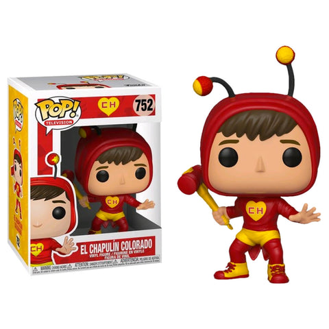 Funko POP Chapulin Colorado 752 Chespirito Funatic Store Colombia