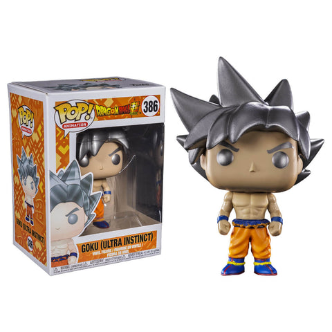 Funko POP Goku Ultra Instinct Dragon Ball Super Funatic Store Colombia