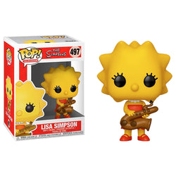 Funko POP Lisa Simpson 497 Funatic Store Colombia