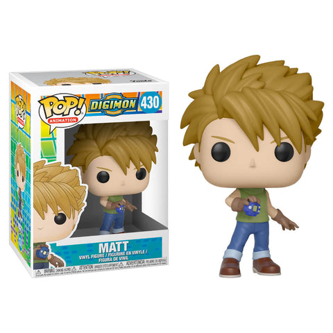 Funko POP Matt Digimon Funatic Store Colombia