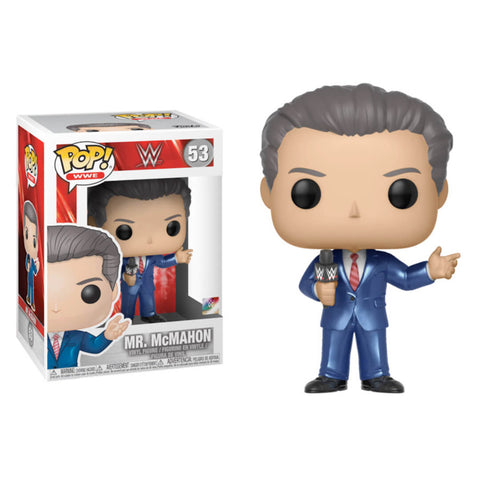 Funko POP Mr McMahon WWE Funatic Store Colombia