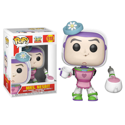 Funko POP Mrs. Nesbitt 518 Buzz Lightyear Toy Story Disney Funatic Store Colombia
