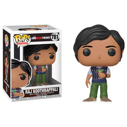 Funko POP Raj Koothrappali 781 The Big Bang Theory Funatic Store Colombia