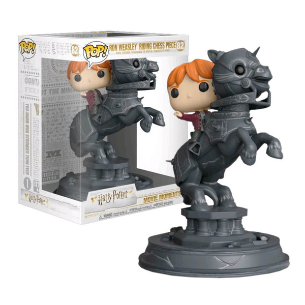 Funko POP Ride Ron Weasley Ajedrez 82 Harry Potter Funatic Store Colombia