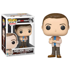 Funko POP Sheldon Cooper 776 The Big Bang Theory Funatic Store Colombia