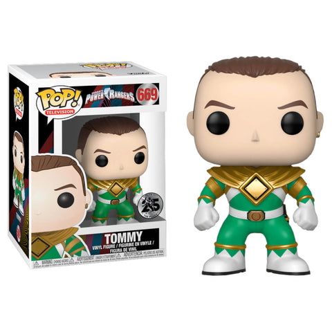 Funko POP Tommy Power Rangers Funatic Store Colombia