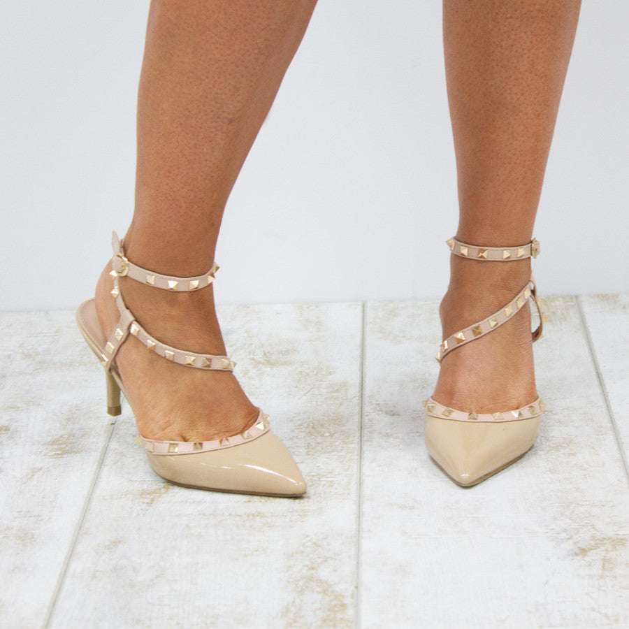 DANCE FOR YOU HEELS - BEIGE