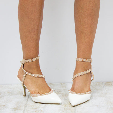 DANCE FOR YOU HEELS - WHITE