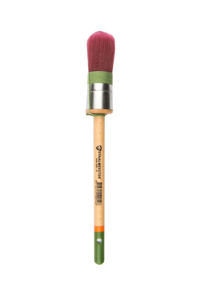Staalmeester Brush - Round Synthetic #18