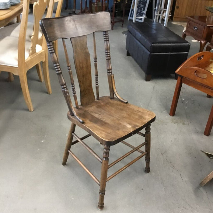 Antique Walnut Chair