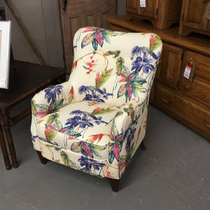 Floral Chair - Brand New