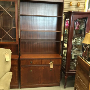 Beresford & Hicks Bookshelf W Lower Cabinet