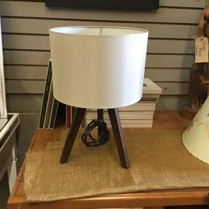 Bouclair Wood 3 Legged Lamp