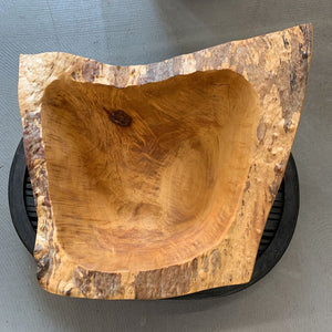 Burl Carving #2 in Bark by Don Stinson