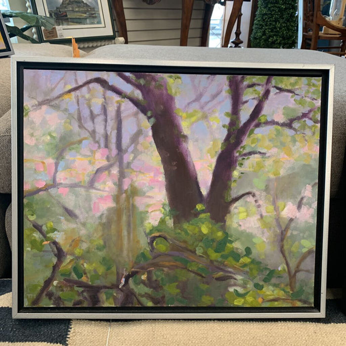 Cherry Blossom Tree - Orig Acrylic by Tamara Mazurenko (UK)
