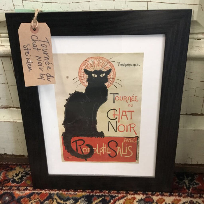 Tournée du Chat Noir by Steinlen
