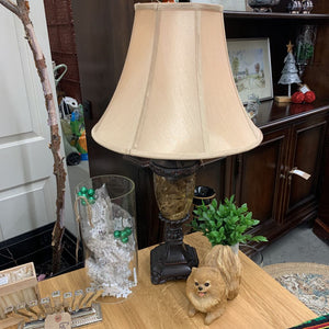 Bronze Marble Table Lamp #219B