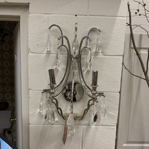 NEW Glass Crystal Wall Mount Chandelier #252