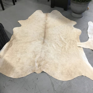 Cowhide Rug - Blonde