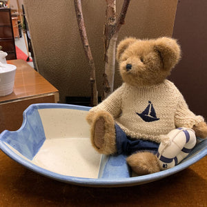 Bear in the Boat - Ceramic Serving Dish