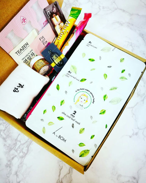 Sheet Mask Box