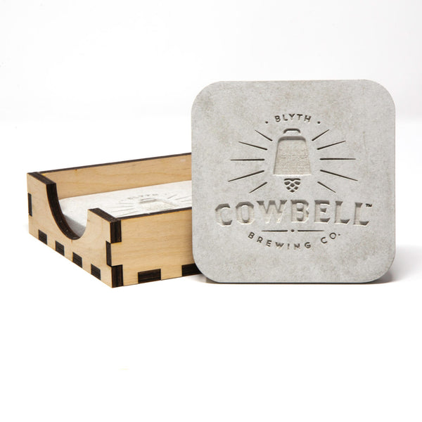 Cowbell Coasters