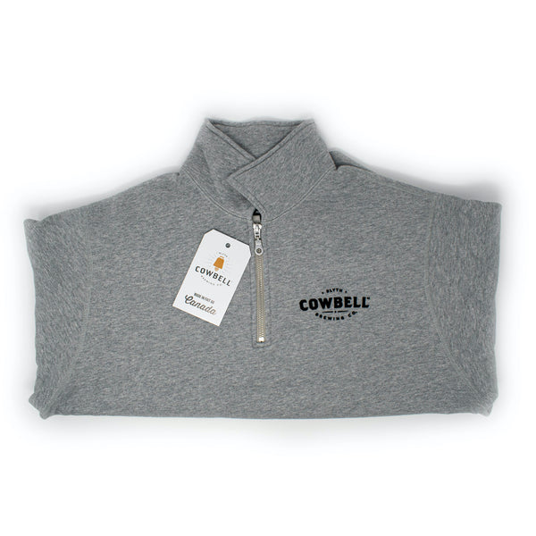 Quarter-Zip Polo Sweatshirt