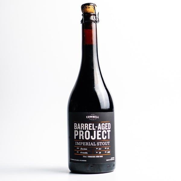 Bourbon Barrel-Aged Imperial Stout Braggot