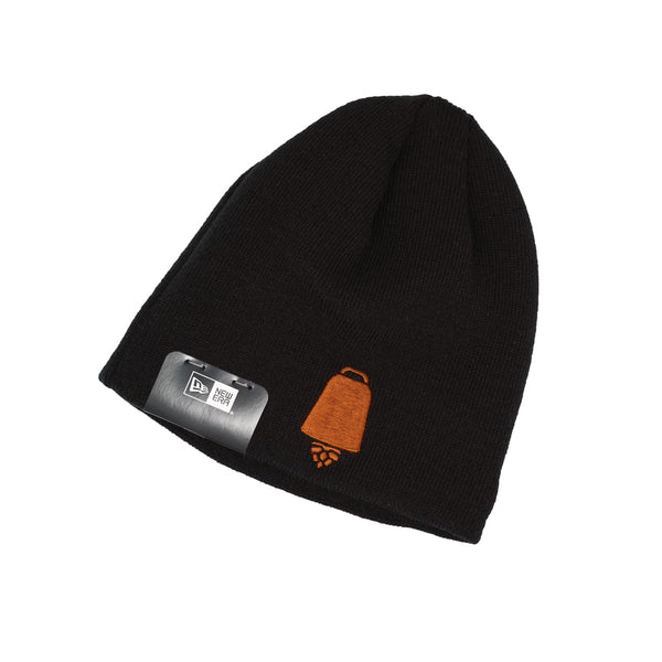 New Era Fleece-Lined Black Knit Tuque
