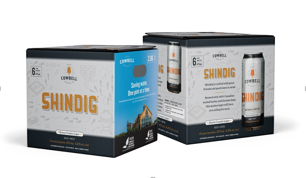 Shindig Huron County Lager 6 Pack