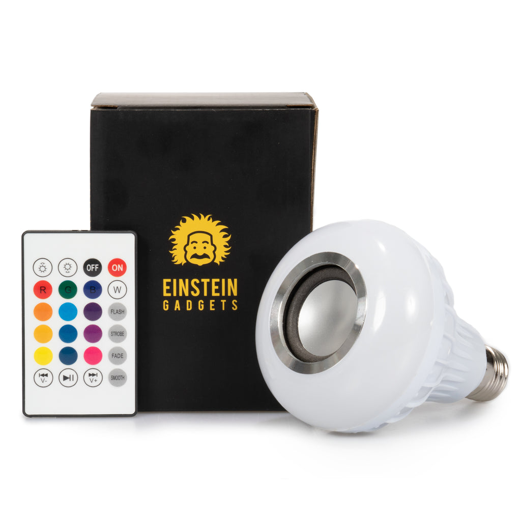 Einsteingadgets LED Wireless Light Bulb Speaker