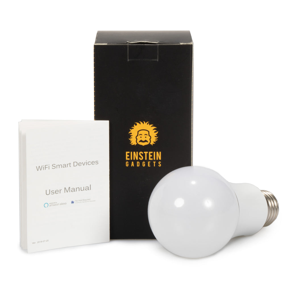Einsteingadgets Wi-Fi Multicolor Smart Bulb
