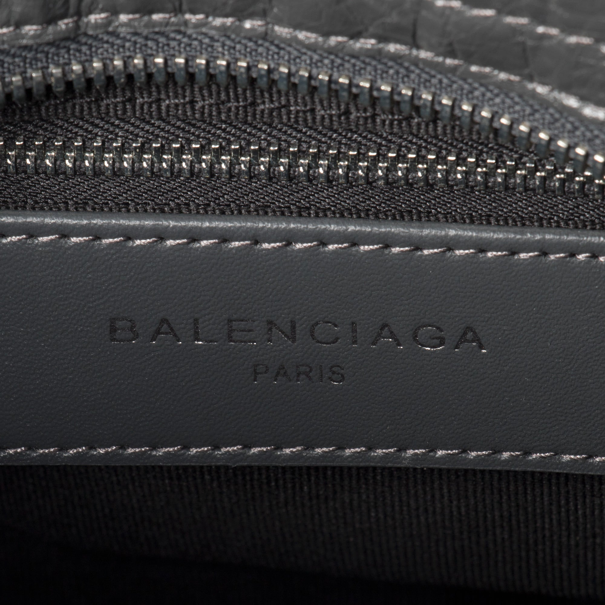 Balenciaga Classic Metallic Edge City Bag | Gray with Silver Hardware | Mini