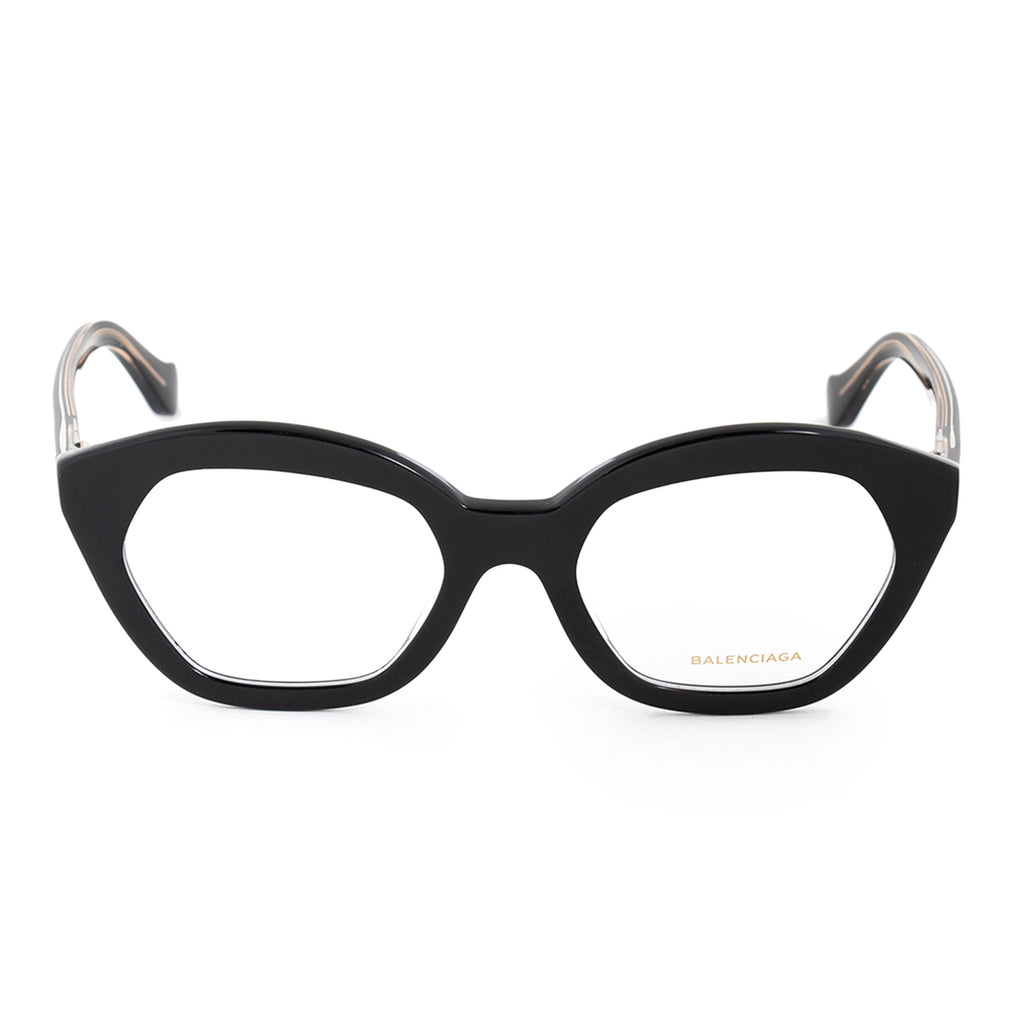 Balenciaga Balenciaga BA 5060 003 51 Hexagonal Cat Eye Eyeglasses Frames