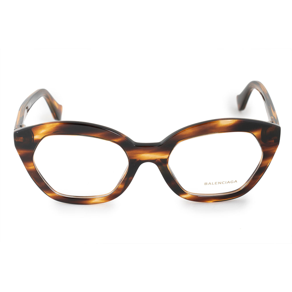 Balenciaga Balenciaga BA 5060 050 51 Hexagonal Cat Eye Eyeglasses Frames