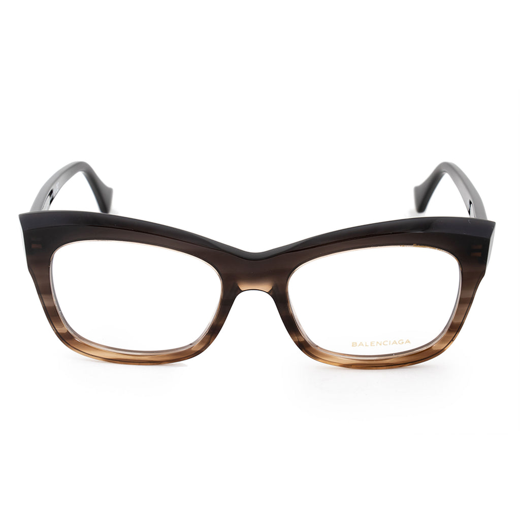 Balenciaga Balenciaga BA 5069 050 52 Rectangular Cat Eye Eyeglasses Frames