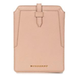 Burberry Burberry Oyster Pink Pebbled Leather iPad Mini Case