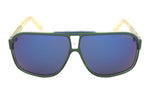 Carrera Grand Prix 2WC Sunglasses | Green Frame | Blue Lens