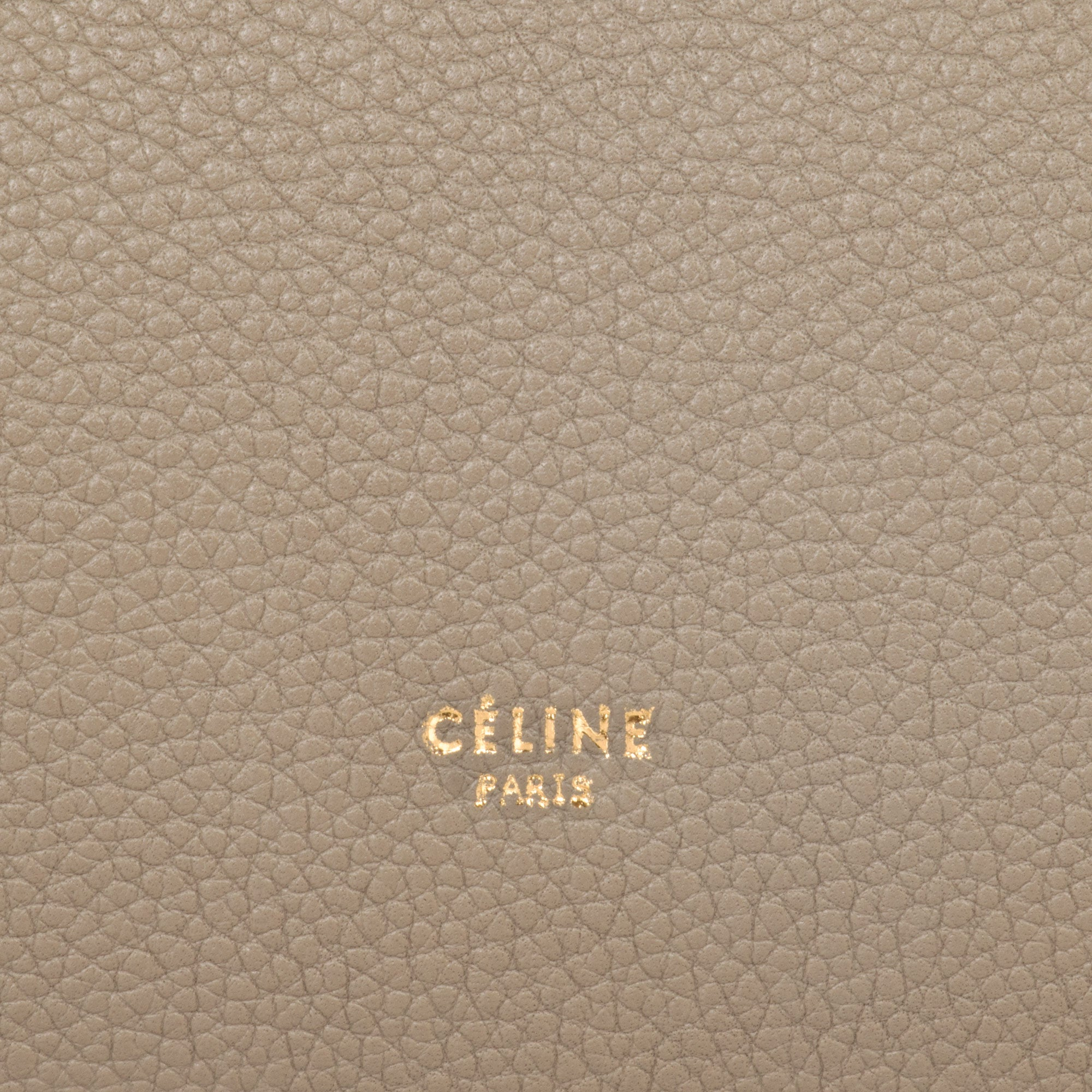 Celine Belt Bag | Dune (Charcoal) Grain | Medium