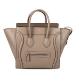 Celine Celine Mini Luggage Bag in Tan Baby Drummed Calfskin Leather