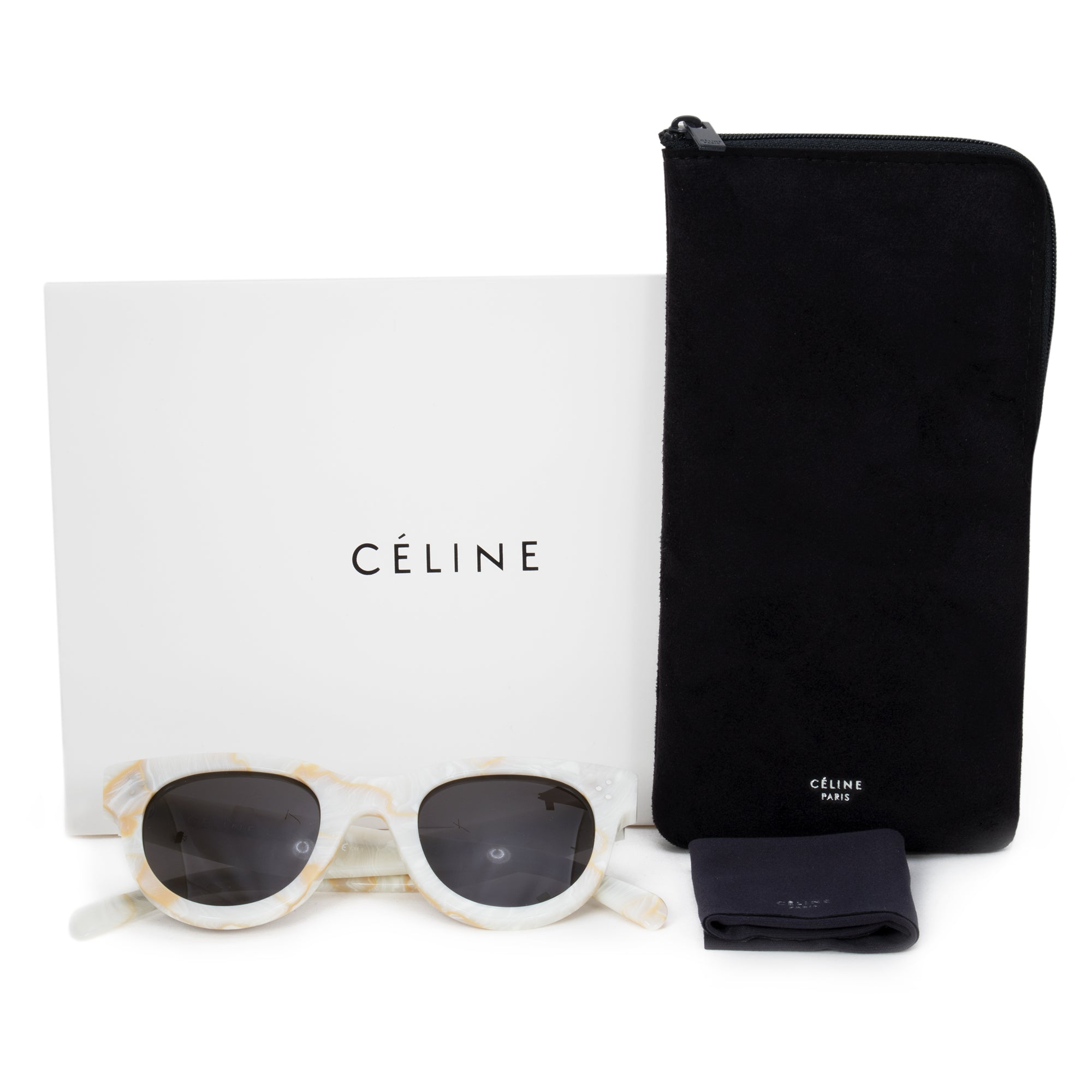 Celine Baby Audrey Cat Eye Sunglasses
