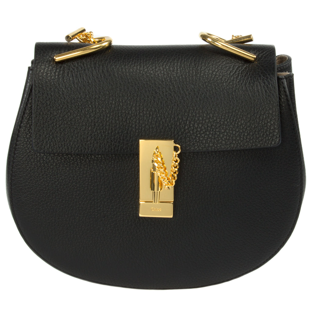 Chloe Drew Medium Black Shoulder Bag